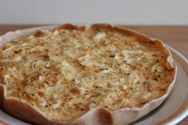 луковый пирог на дрожжевом тесте рецепт с фото